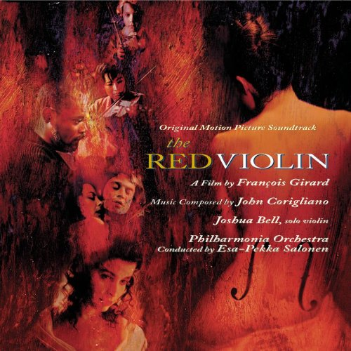 Cover art for The Red Violin soundtrack, composed by John Corigliano