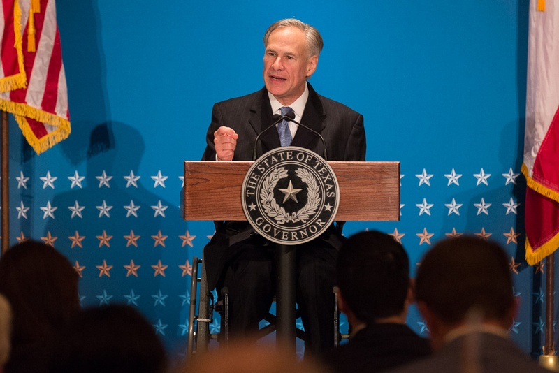 Greg Abbott gives the closing keynote at the 2016 Texas Public Policy