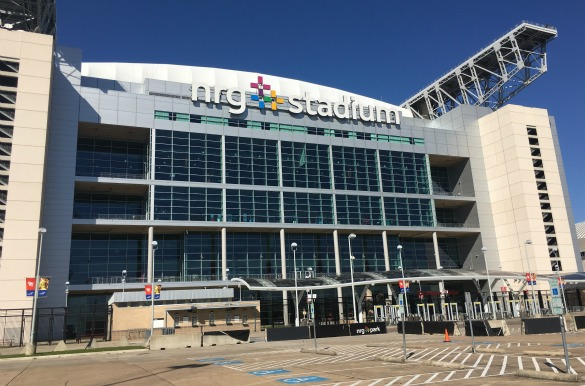 NRG Stadium. Photo: Michael Hagerty, Houston Public Media.