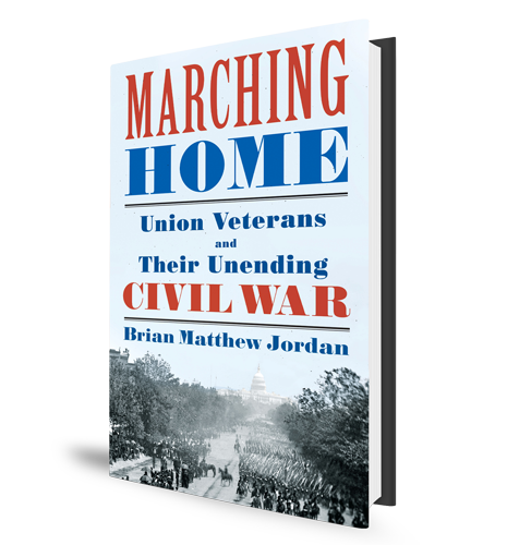 Marching Home Civil War Veterans Book Cover