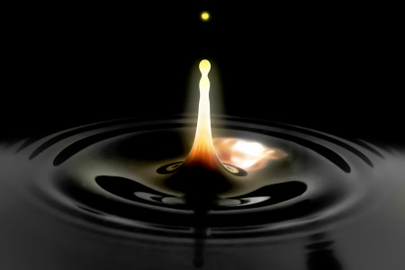 Photo called Teardrop on Fire