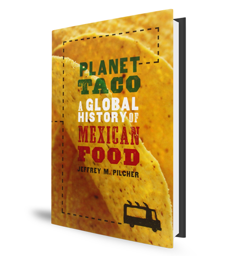 Planet Taco Book Cover Mexican Food