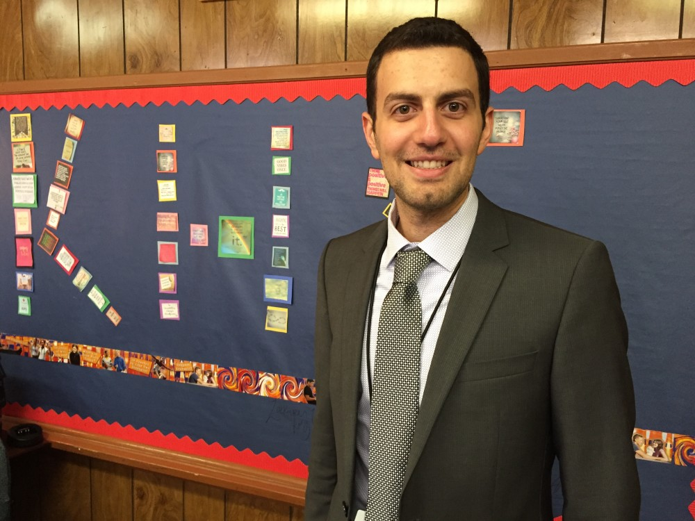 After teaching at Kashmere High School for three years, Adeeb Barqawi launched a nonprofit, called ProUnitas, to link students with more wrap-around social services on campus.