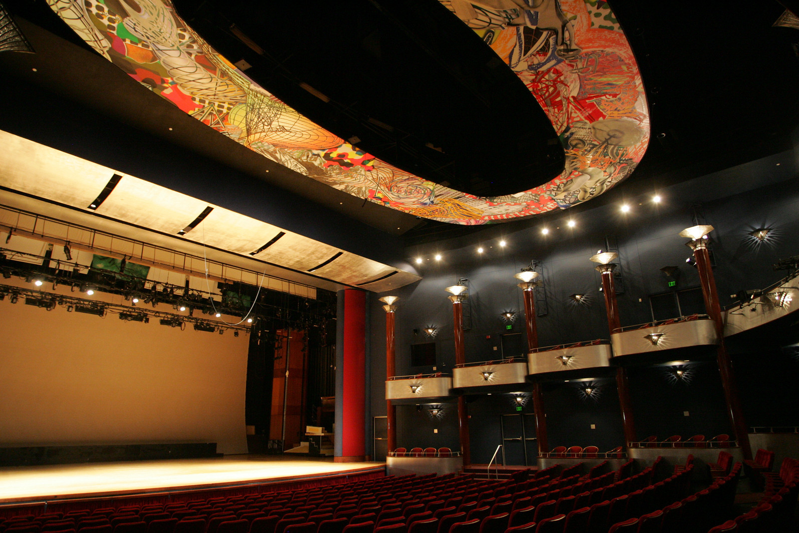 Inside the Moores Opera House