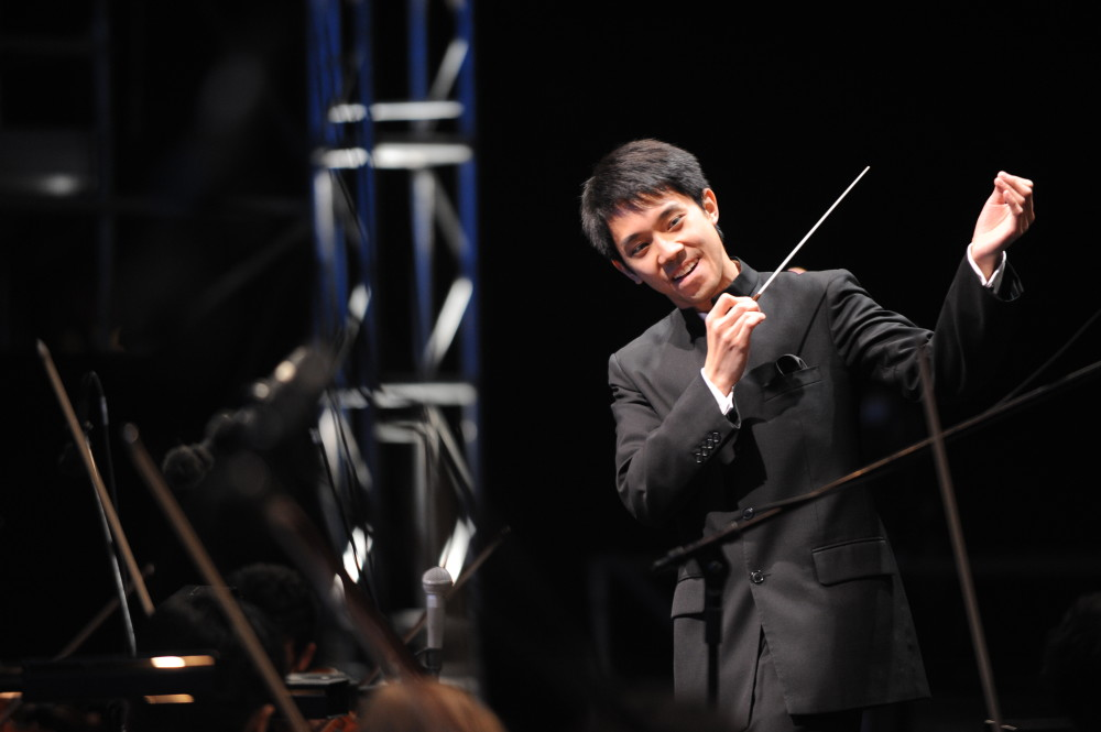 Guest conductor Perry So