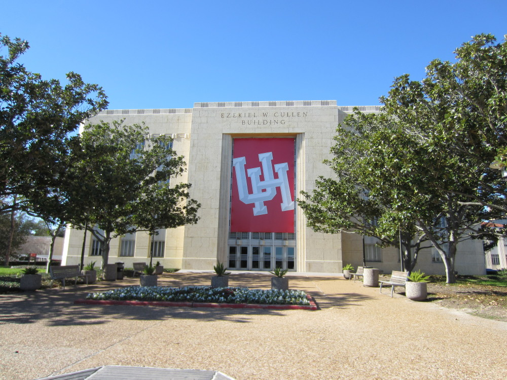 The Ezekiel W. Cullen Building at the University of Houston in January 2012