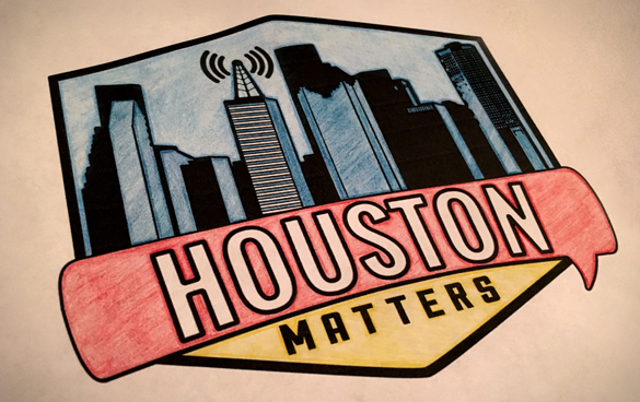 Houston Matters Coloring Book Logo