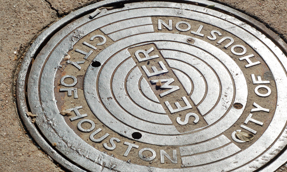 City of Houston Sewers Drainage Water