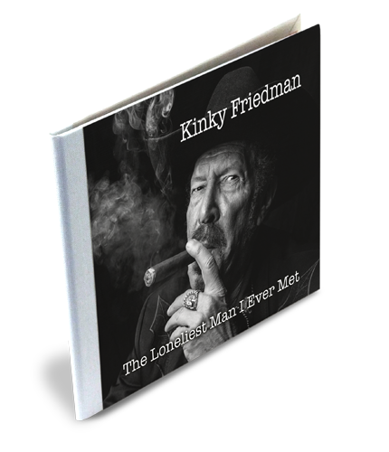 Kinky Friedman CD Case