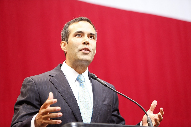 Land Commissioner George P. Bush
