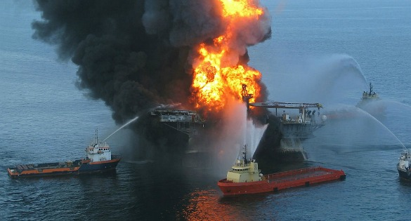Deepwater Horizon offshore drilling disaster oil spill - Wikipedia Commons