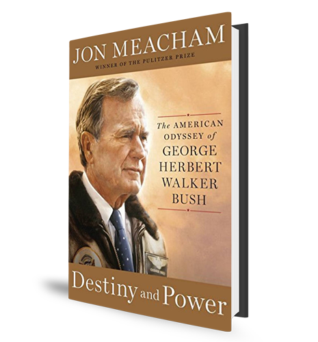 Destiny and Power Book Cover George HW Bush