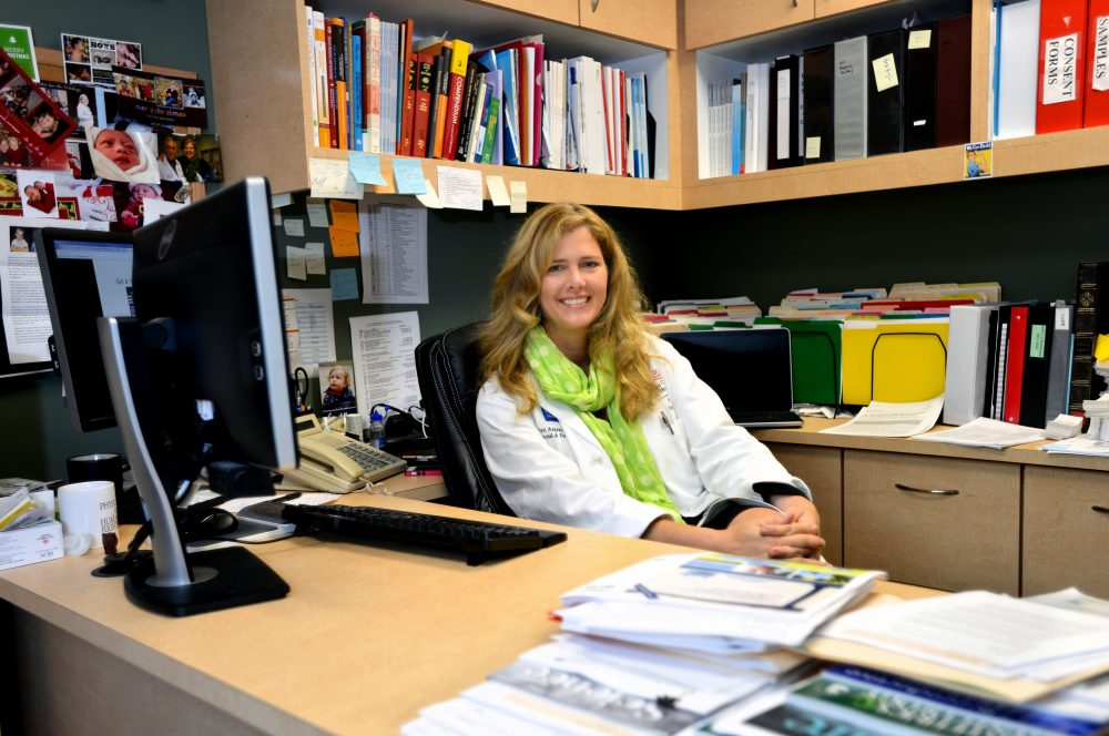Dr. Kjersti Aagaard, an associate professor of obstetrics and gynecology at Baylor College of Medicine, says infection rates in the U.S. could be lower than in Brazil, because of better infrastructure.