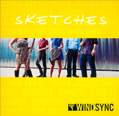 CD cover for Sketches, by WindSync