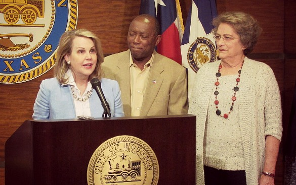 METRO Chair Carrin Patman Mayor Sylvester Turner Councilwoman Ellen Cohen - Gail Delaughter HPM