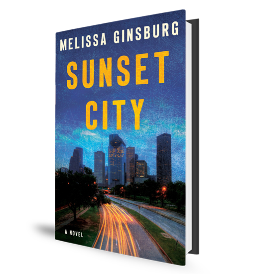 Sunset City Book Cover - Melissa Ginsburg