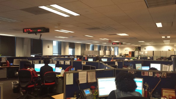 Houston's 311 Call Center