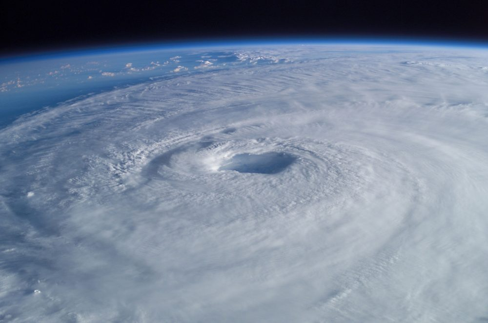 Hurricane Isabel taken from the International Space Station
