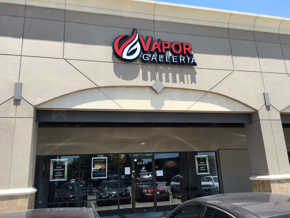 "Vapor Galleria near NRG Stadium  is one of dozens of ""vape shops"" that have opened in Houston in recent years."
