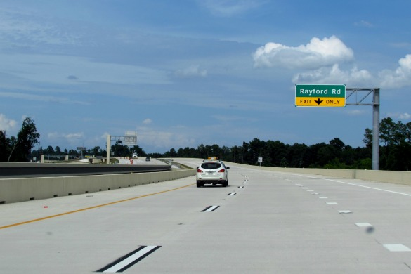 Grand Parkway (Photo: Gail Delaughter, Houston Public Media)
