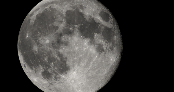 The Moon. Photo: Wikipedia Commons