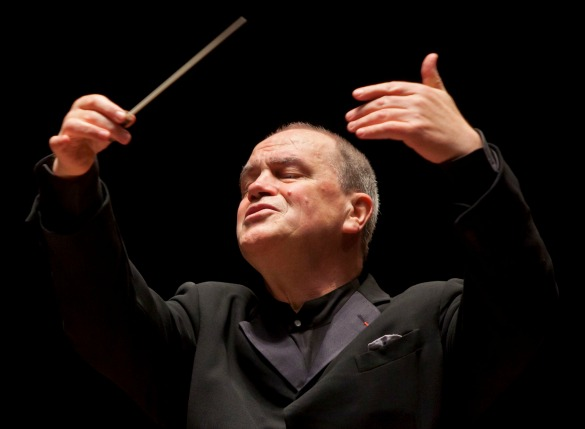Former Houston Symphony conductor Hans Graf. (Photo Courtesy: Bruce Bennett)