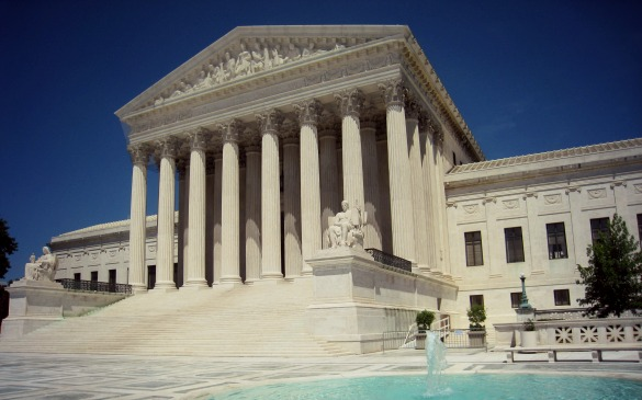 The US Supreme Court building in Washington, DC. Photo: Wikipedia Commons/Public