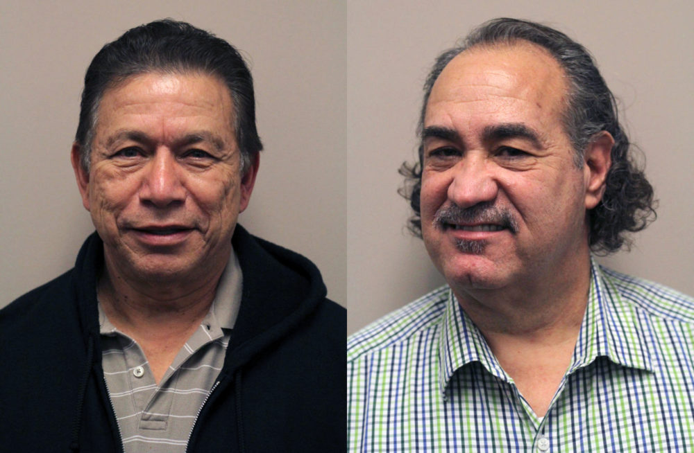 Hipólito Acosta and A.J. Irwin, co-authors of The Hunt for Maan Singh.