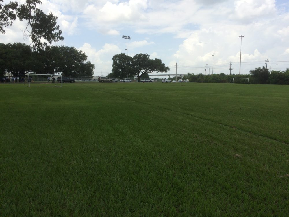 A new soccer field will be built at Milby Park on Houston's eastside.