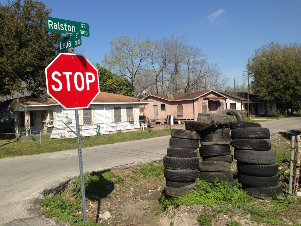 City officials say scrap tire illegal operations and dumping them are a problem because they become breeding grounds for mosquitoes.