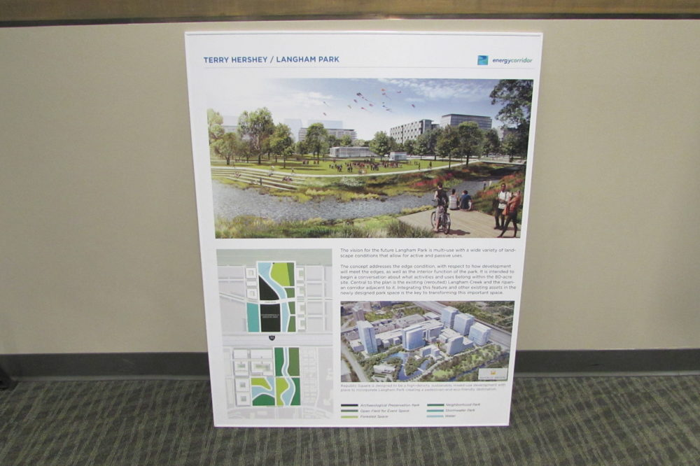 Bike path connectivity was one of the topics at a recent forum on mobility in West Houston.