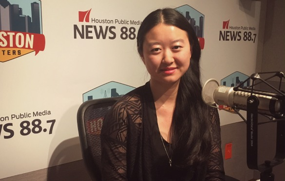 """Filmmaker and Sugar Land native Li Lu is the writer and director of """"There Is a New World Somewhere."""" Photo: Michael Hagerty, Houston Public Media."""