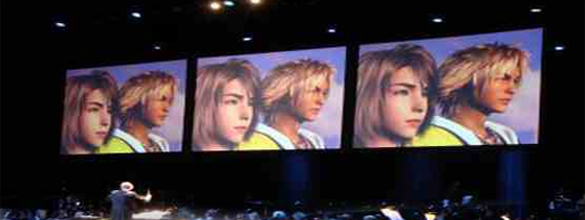 """A performance of """"Distant Worlds: Music from Final Fantasy,"""" which will take the stage with the Houston Symphony on July 23, 2016. (Photo: Courtesy ffdistantworlds.com)"""
