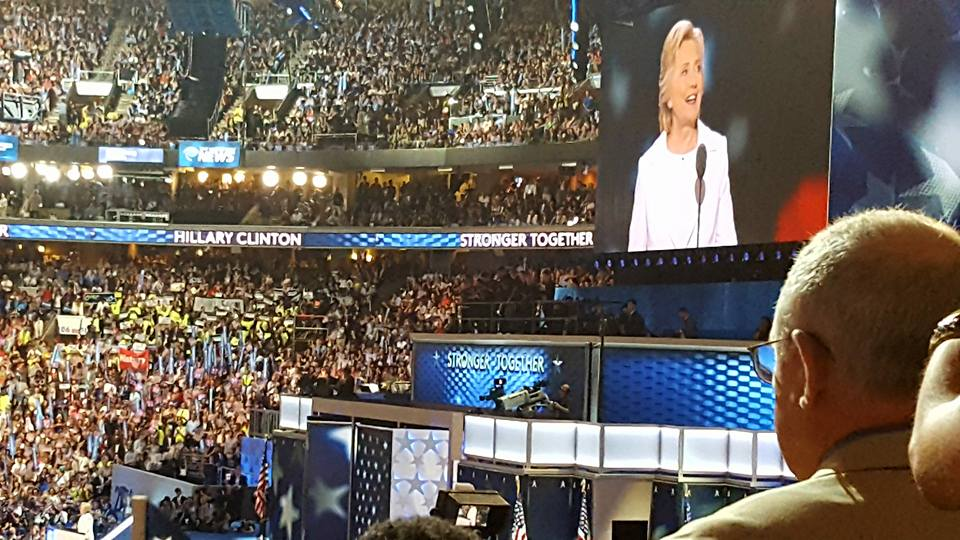 The 2016 Democratic National Convention in Philadelphia. Photo: Ryan Poppe, Texas Public Radio