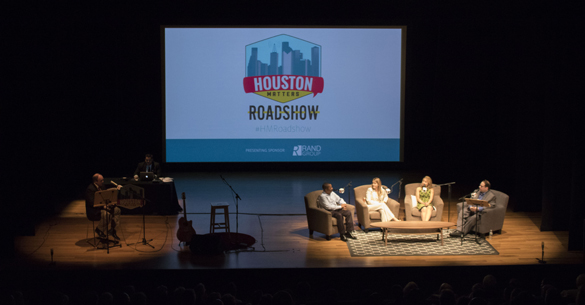 The Houston Matters Roadshow, recorded in front of a live audience at the Asia Society Texas Center on June 28, 2016.