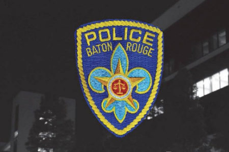 The logo of the Baton Rouge Police Department.