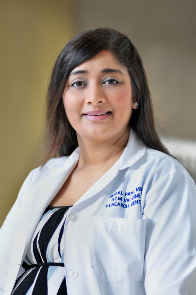 Dr. Shital Patel will be lead investigator on the Zika study.