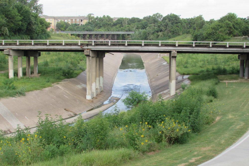 White Oak Bayou at Studemont Street