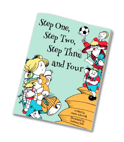 Step One Step Two - Blended Families - Book Cover