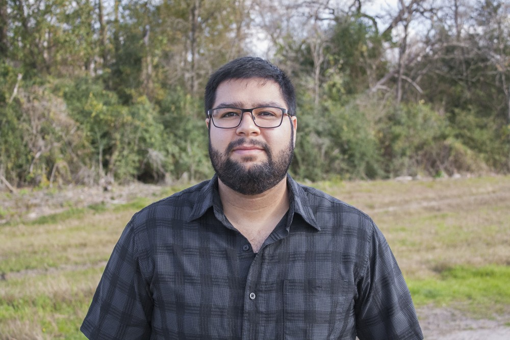Houston Poet Bruno Rios. (Photo: Courtesy of the Artist)