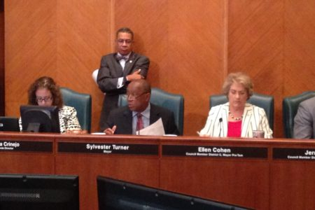 Houston Mayor Sylvester Turner says his objective is to reach an agreement with the City's employees regarding how to deal with the pension issue by the end of the year.