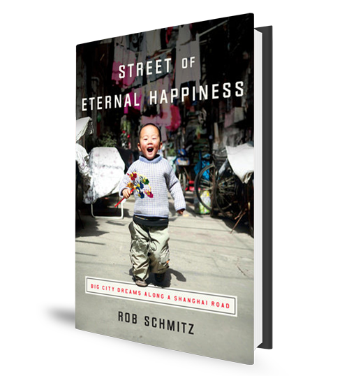 Street of Eternal Happiness - Rob Schmitz - Book Cover
