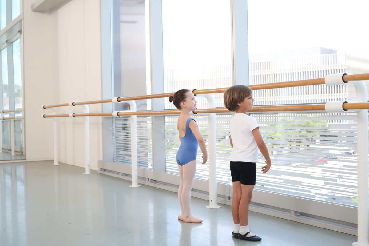 Students of Houston Ballet Academy's Lower School