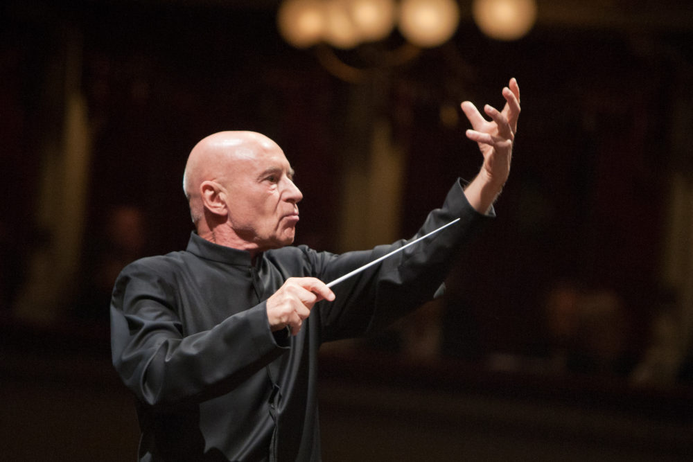 Christoph Eschenbach, former music director of the Houston Symphony