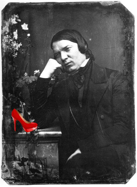 Robert Schumann with Shoe