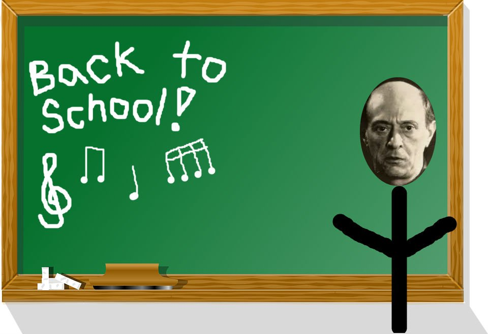 Back to School with Arnold Schoenberg