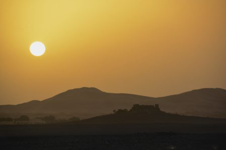 Sunrise in Merzouga, Morocco