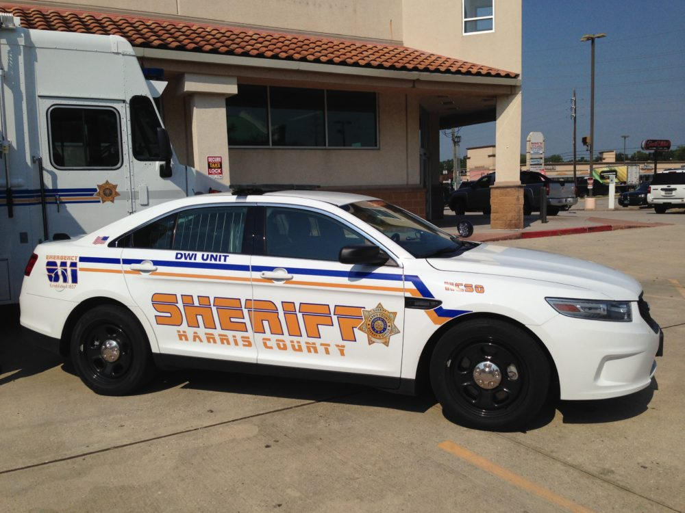 Harris County Sheriff's deputies will be watching the roadways in patrol cars like these.