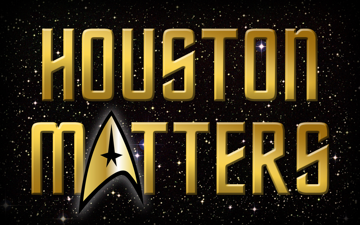 Houston Matters Star Trek 50th Anniversary Logo - Michael Hagerty, Houston Public Media