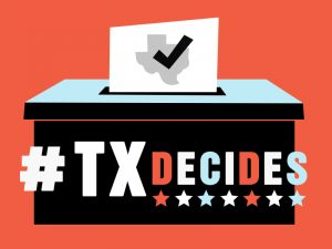 TXDecides Logo Election Politics